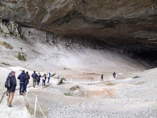 Cueva del Milodón: Benannt nach einem prähistorischen Riesenfaultier, das man hier fand