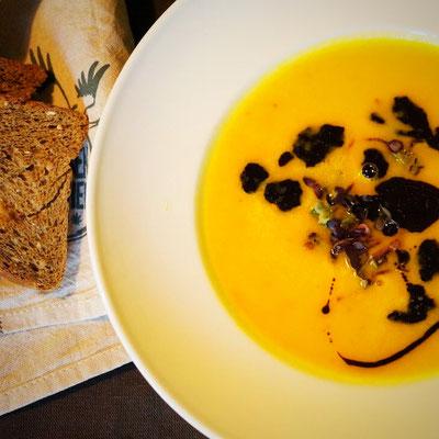 Kürbis-Suppe, ein Klassiker!