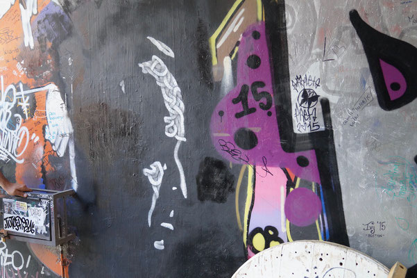 Valparaíso Street Art: Marlon Brando Stencil Graffiti