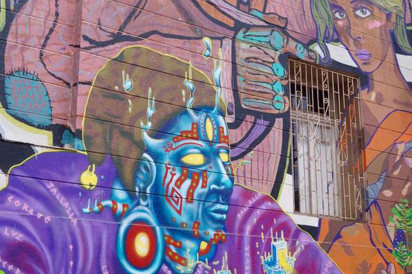 Valparaíso Street Art: Glm + kiroz +Chure (Kollektiv Düwen)