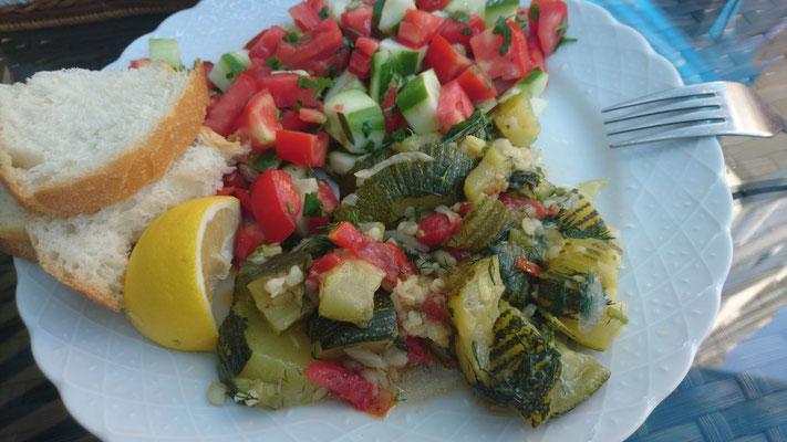 Schmorgurken bei Zeynep'in Mutfağı