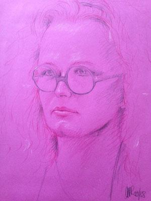 Eine Portrait meiner Mutter.