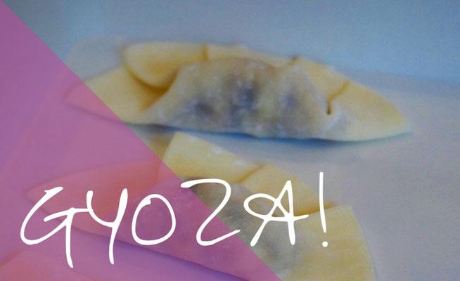 Die einfache Gyoza-Faltung