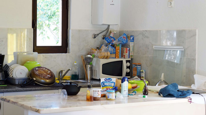 Geordnetes Küchenchaos in Carvoeiro