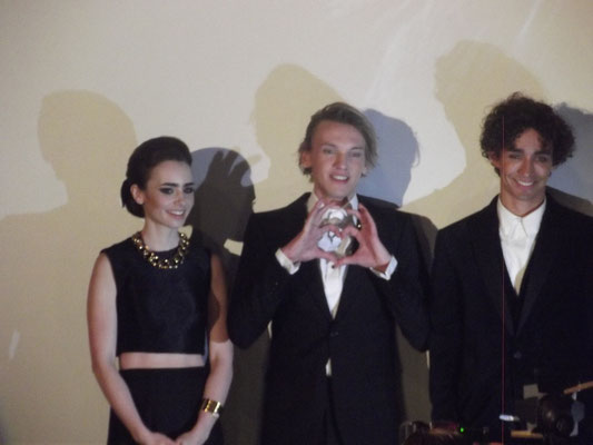 City of Bones-Europapremiere