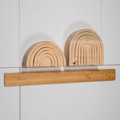 Regenbogen aus Zirbenholz für wunderbar erholsamen Raumduft, ab 29€