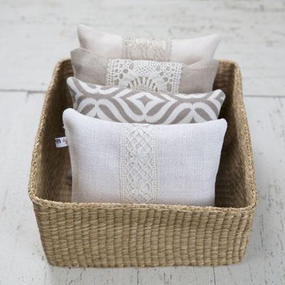 Zirbenkissen aus natürlichem Leinen, sorgen für einen erholsamen Schlaf, 15€