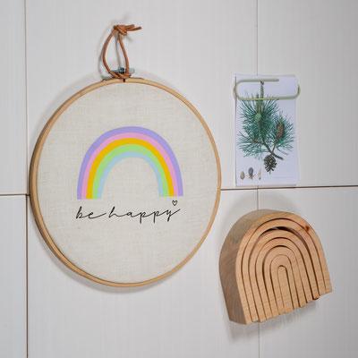 """Bild """"Regenbogen"""" 17€, Regenbogen aus Holz ab 29€"""