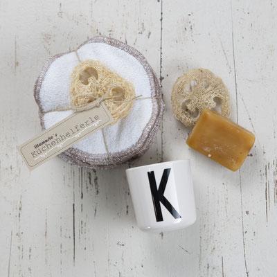 K wie Küchenhelferle: die umweltfreundliche Alternative zum Plastikschwamm