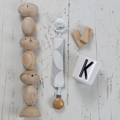 Schnullerkette mit Holzclip 15€