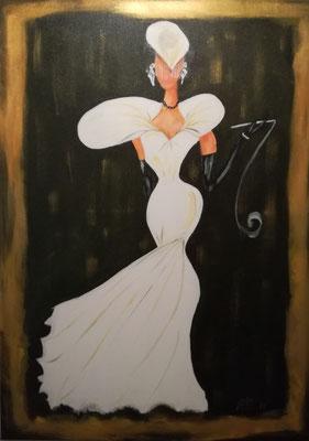 75,- Model of bruid 50x70
