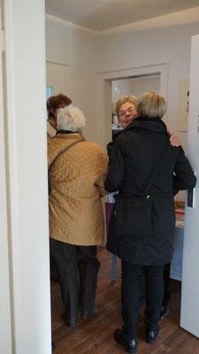 Ja ... auch von fern: Auch bei Bremer Kunstfreunden fand die Ausstellung Zuspruch
