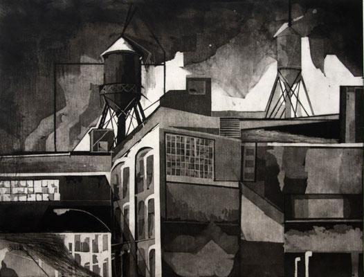 tOG No.05 - Cleveland - Druckgraphik - 60 x 80 cm - E.A.