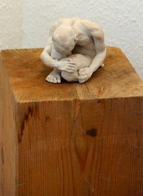 ...sowie eine Skulptur, die gleich besondere Anhänger fand.