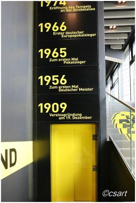 Wow, klasse, ein gelber Aufzug