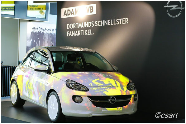 Toll gemacht, Bildershow auf einem Opel