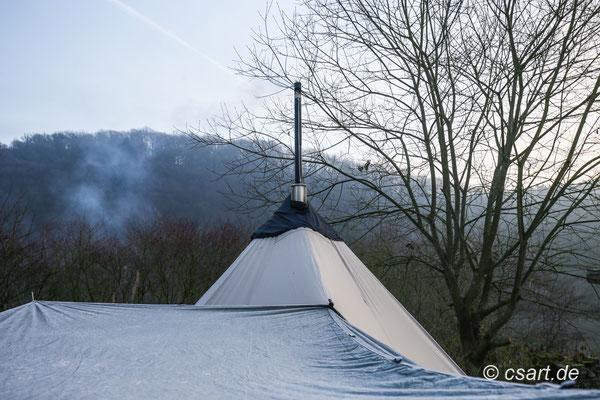 nochmal das Dach