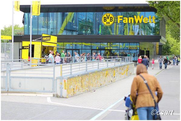 Ein echt schöner Ort, auch wenn der BVB nicht spielt