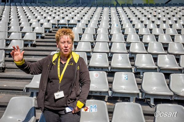 ...Annette Kritzler, echtes BVB Urgestein, DANKE für dieses tolle Erlebnis....