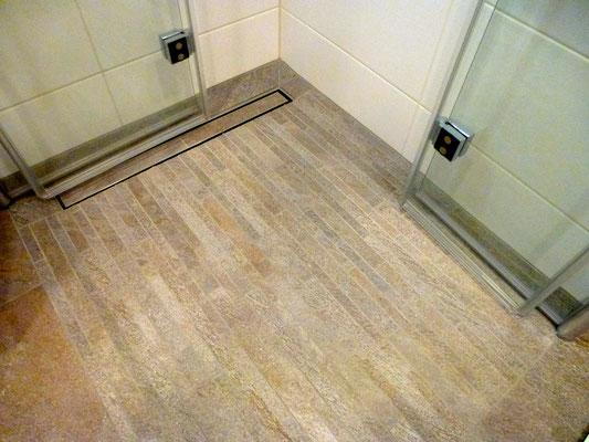 Duschkabine vom Meisterbetrieb Fliesen Seitz Seckenheim