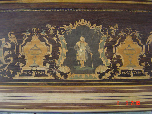 Billard Charles X. Ebénisterie Philippe
