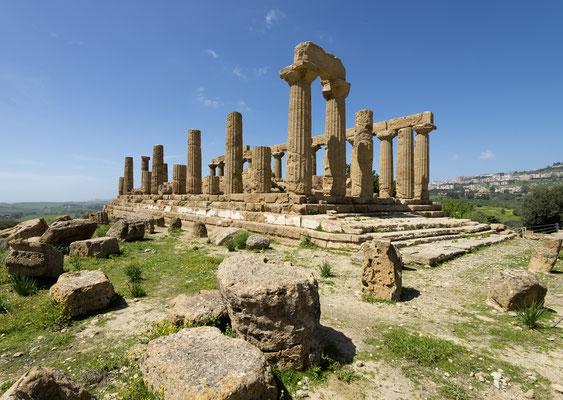 Hera-Tempel bei Agrigento