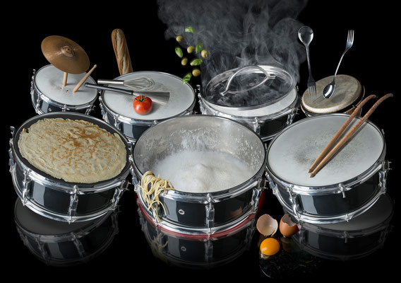 Drummers dinner  · Copyright by Olaf Bruhn