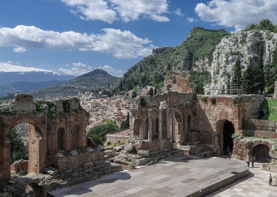 Teatro Greco mit Ätna, Taormina