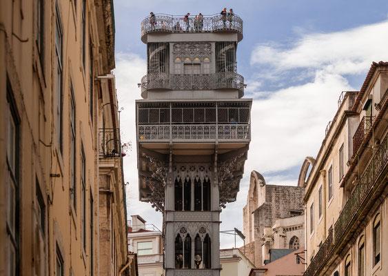 Aussichtsplattform auf dem Elevador de Santa Justa