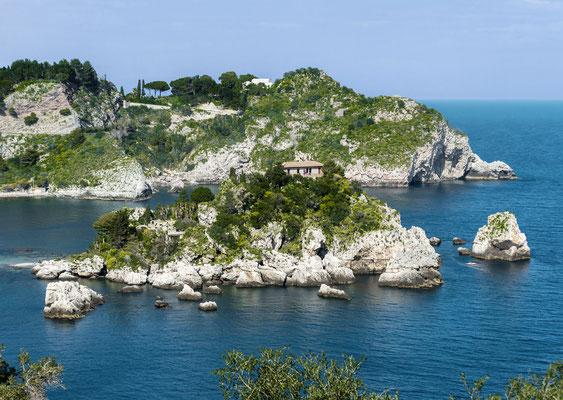 Isola bella vor Taormina
