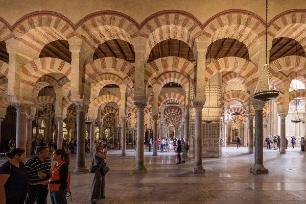 Mezquita in Cordoba, Andalusien