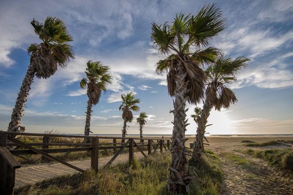 Am Strand von Tarifa, Andalusien