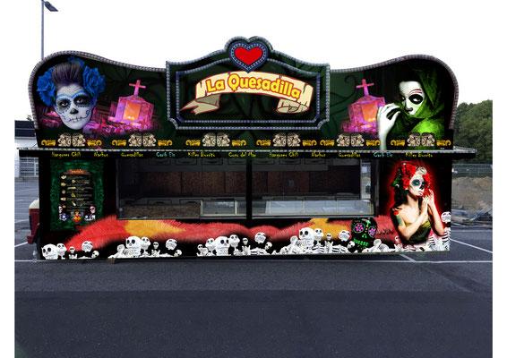 El Gordito GmbH - Food Truck La Quesadilla - Verkaufsseite offen