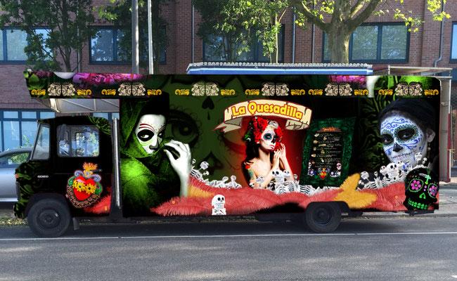 El Gordito GmbH - Food Truck La Quesadilla - Verkaufsseite geschlossen