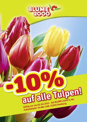 BLUME 2000 - Tulpen Aktion - VKF A2 Plakat
