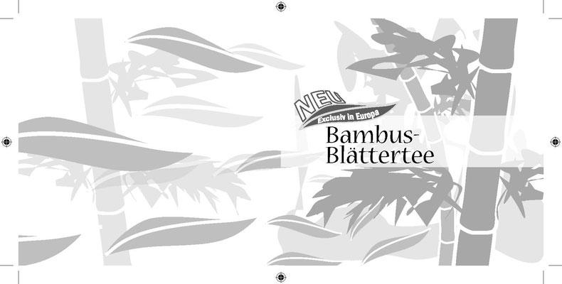 Verpackung - Produktproben Bambusblätter Tee - Aussen