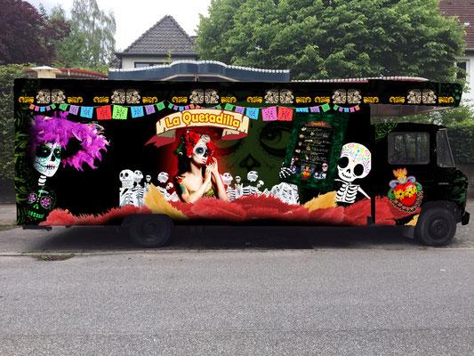 El Gordito GmbH - Food Truck La Quesadilla - Rückseite