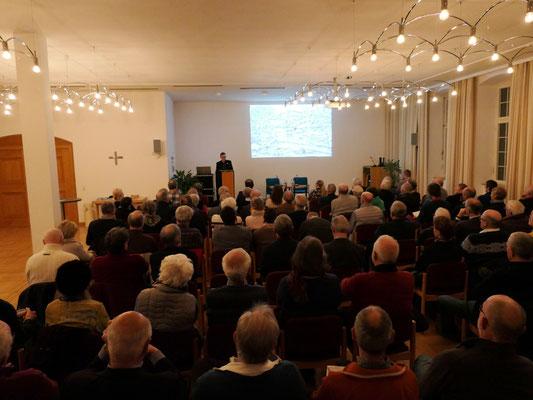 Begrüßung durch Johannes Kuber (Akademie der Diözese Rottenburg-Stuttgart)