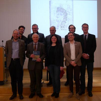 v.l.n.r. (hinten) Rainer Maucher, Andreas Schmauder, Harald Derschka, (vorne) Dietmar Schiersner, Thomas Zotz, Nina Gallion, Johannes Kuber, Karel Hruza