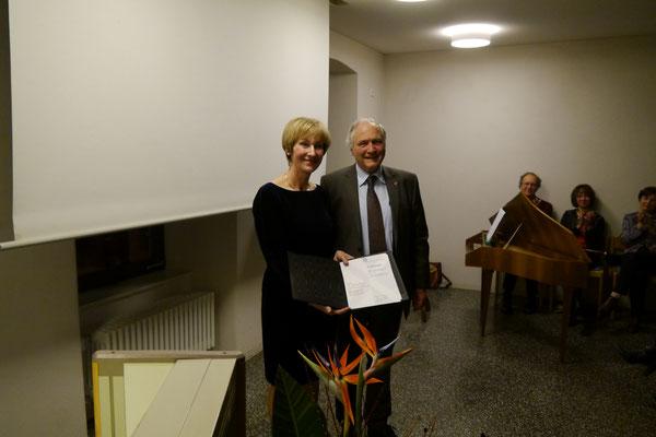 Überreichung des Franz-Ludwig-Baumann-Preises der Gesellschaft Oberschwaben