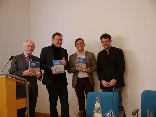 v.l.n.r.: Thomas Zotz, Andreas Schmauder, Johannes Kuber, Rainer Maucher