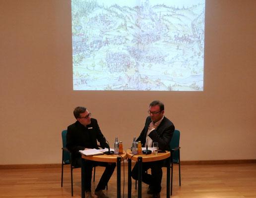 Johannes Kuber und Prof. Dr Andreas Schmauder