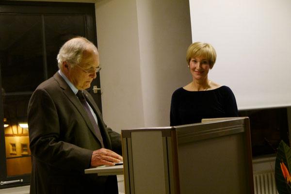 Prof. Dr. Thomas Zotz und Dr. Andrea Riotte