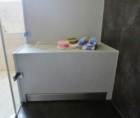 Sitzbank in der Dusche - Shop für Duschdichtungen, Duschprofile ...