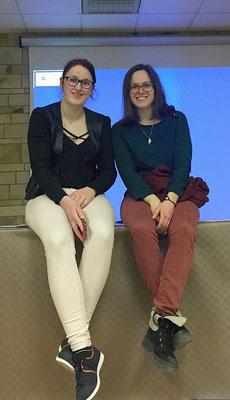 Typhaine et Clarisse, très actives au sein des Jeunes Professionnelles
