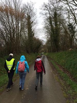 Marche Pascale le long de la voie verte de Semallé à Alençon