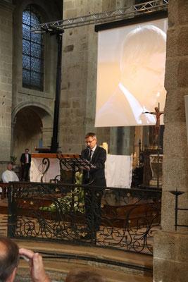 M. Joaquim Pueyo, député-maire d'Alençon