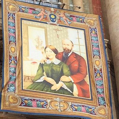 Recopié, il a été diffusé dans le monde entier. Il est présent sur la façade de la basilique, place Lamagdeleine