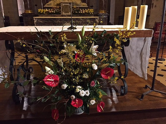 et de l'autel de la basilique