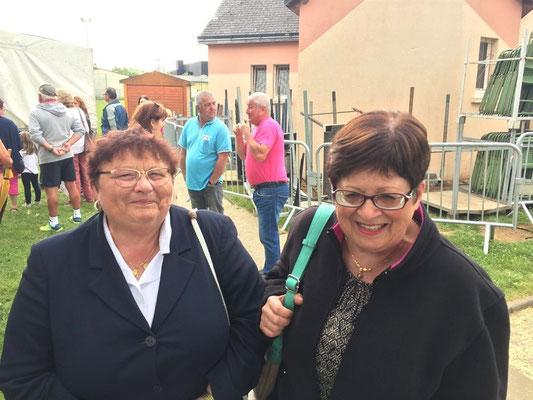 Marie-Louise et Rose-May, deux fidèles participantes !